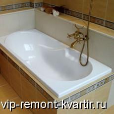 Акриловая ванна в интерьере - VIP-REMONT-KVARTIR.RU