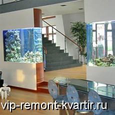 Аквадизайн в интерьере квартиры - VIP-REMONT-KVARTIR.RU