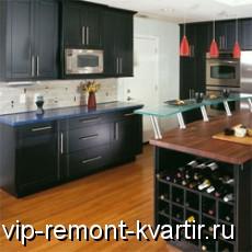 Черная кухня в интерьере - VIP-REMONT-KVARTIR.RU