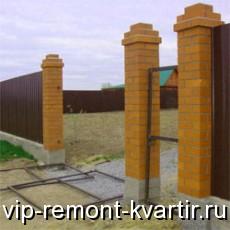 Достоинства и недостатки заборов из профнастила - VIP-REMONT-KVARTIR.RU