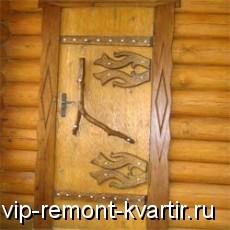 Двери для сауны - VIP-REMONT-KVARTIR.RU