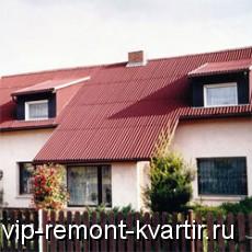 Еврошифер: преимущества и недостатки - VIP-REMONT-KVARTIR.RU