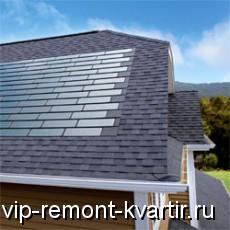 Фотоэлектрическая кровельная плитка, производящая энергию вместо панелей - VIP-REMONT-KVARTIR.RU