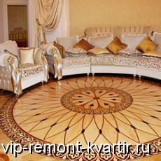 Художественный и дворцовый паркет - произведение искусства - VIP-REMONT-KVARTIR.RU