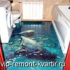 Идеально ровные полимерные полы. Новое напольное покрытие - VIP-REMONT-KVARTIR.RU