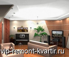 Интерьер гостиной - VIP-REMONT-KVARTIR.RU
