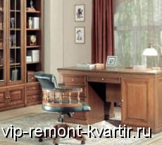 Интерьер кабинета - VIP-REMONT-KVARTIR.RU