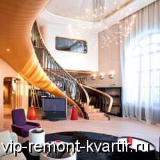 Интерьер квартиры в стиле арт-нуво - VIP-REMONT-KVARTIR.RU