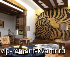 Интерьер квартиры в стиле фьюжн - VIP-REMONT-KVARTIR.RU