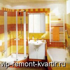 Интерьер маленькой ванной комнаты - VIP-REMONT-KVARTIR.RU