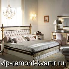 Интерьер спальни в стиле арт-деко - VIP-REMONT-KVARTIR.RU