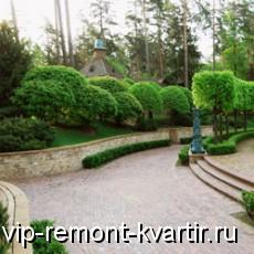 Использование декоративного бетона в ландшафтном дизайне - VIP-REMONT-KVARTIR.RU