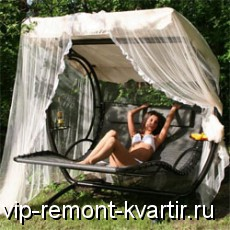 Качели для дачно-огородного интерьера - VIP-REMONT-KVARTIR.RU