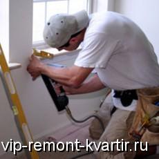Как установить подоконник - VIP-REMONT-KVARTIR.RU