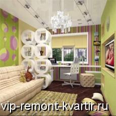 Комбинирование разных обоев в одной комнате - VIP-REMONT-KVARTIR.RU