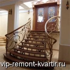 Кованые лестницы - идеальный выбор - VIP-REMONT-KVARTIR.RU