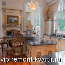 Кухня в викторианском стиле - VIP-REMONT-KVARTIR.RU