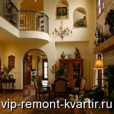 Оформление гостиной в испанском стиле - VIP-REMONT-KVARTIR.RU