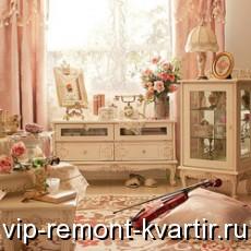 Оформление помещение в стиле шебби-шик - VIP-REMONT-KVARTIR.RU