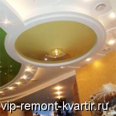 Особенности и преимущества натяжного потолка - VIP-REMONT-KVARTIR.RU