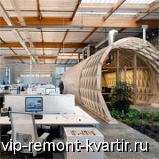Профессиональная обстановка вместе с оригинальной мебелью для офисов - VIP-REMONT-KVARTIR.RU