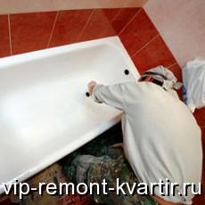 Ремонт и реставрация старой ванны - VIP-REMONT-KVARTIR.RU
