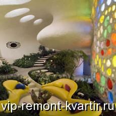 Стиль бионика в интерьере квартиры - VIP-REMONT-KVARTIR.RU