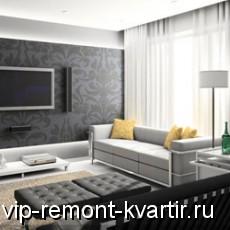 Стиль хай-тек в интерьере квартиры - VIP-REMONT-KVARTIR.RU