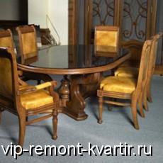 Выбираем обеденный стол и стулья для кухни и гостиной - VIP-REMONT-KVARTIR.RU