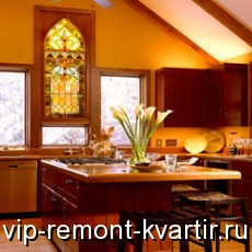 Витражи в интерьере квартиры - VIP-REMONT-KVARTIR.RU