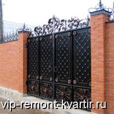 Всё о заборах для загородного дома - VIP-REMONT-KVARTIR.RU