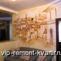 Аэрография в современном дизайне интерьера - VIP-REMONT-KVARTIR.RU