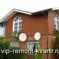 Блок-хаус для отделки фасадов загородных домов - VIP-REMONT-KVARTIR.RU