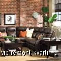 Интерьер квартиры в стиле лофт - VIP-REMONT-KVARTIR.RU