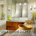 Интерьер просторной ванной комнаты - VIP-REMONT-KVARTIR.RU