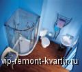 Интерьер ванной комнаты - VIP-REMONT-KVARTIR.RU