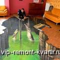 Наливные 3D полы - VIP-REMONT-KVARTIR.RU