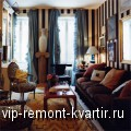 Обои в полоску в интерьере квартиры - VIP-REMONT-KVARTIR.RU