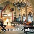 Оформление гостиной в готическом стиле - VIP-REMONT-KVARTIR.RU