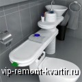Оформление интерьера туалета - VIP-REMONT-KVARTIR.RU