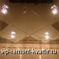 Оформление ванной комнаты зеркальными потолками - VIP-REMONT-KVARTIR.RU