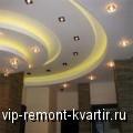 Оригинальные потолки из гипсокартона — фото дизайнерской мысли в интерьере - VIP-REMONT-KVARTIR.RU