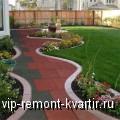Резиновая плитка и брусчатка. Преимущества и сферы применения - VIP-REMONT-KVARTIR.RU