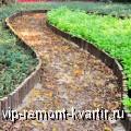 Садовые дорожки – неотъемлемая часть ландшафтного дизайна - VIP-REMONT-KVARTIR.RU
