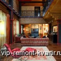 Создание интерьера в домах из оцилиндрованного бревна - VIP-REMONT-KVARTIR.RU
