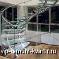 Стеклянные лестницы в интерьере вашего коттеджа - VIP-REMONT-KVARTIR.RU