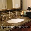 Столешница в ванной комнате – выбор подходящего материала - VIP-REMONT-KVARTIR.RU