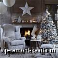 Зимние мотивы в оформлении декора - VIP-REMONT-KVARTIR.RU